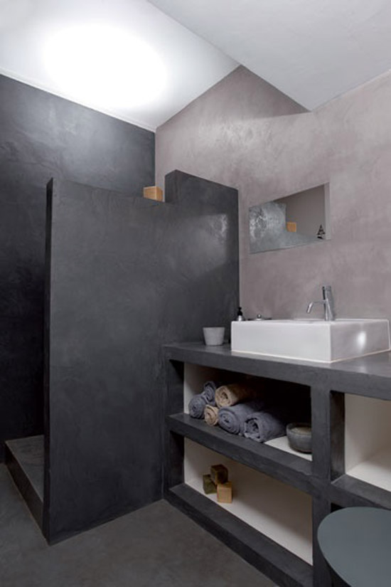 Minimalistische badkamers wooninspiratie - Cloison douche italienne ...