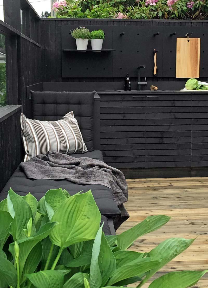 Modern dynamisch tuinontwerp