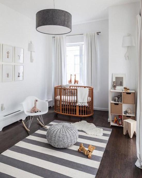 Moderne babykamer