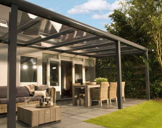 Tuin Met Overkapping : Kleine tuin met overkapping zwembad kleine tuin mooi veranda