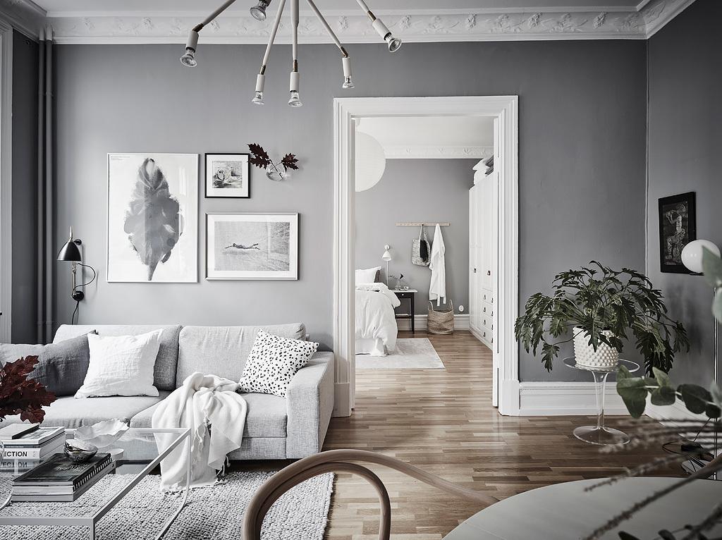 Mooi appartement met veel grijs
