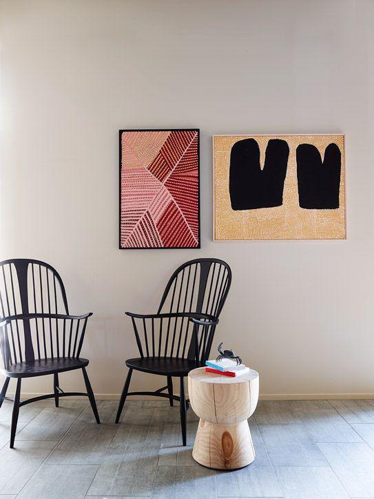 Mooi artwork in huis