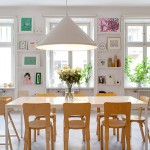 Mooi licht Scandinavisch huis