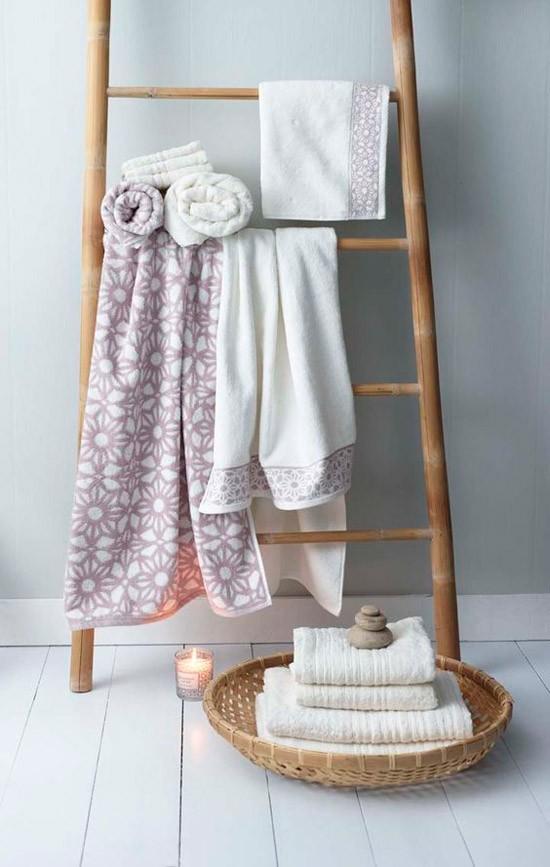 Mooie handdoek ladders