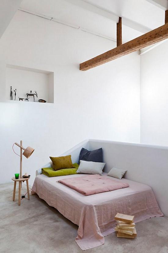 Mooie houten balken in huis