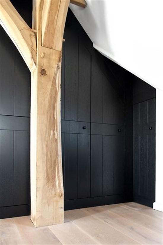 Mooie houten balken in huis wooninspiratie - Slaapkamer met zichtbare balken ...