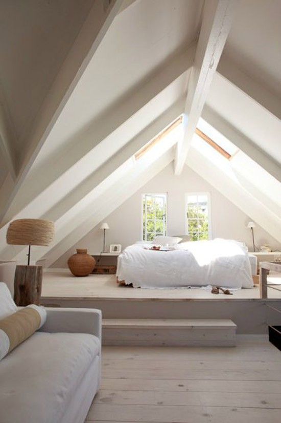 mooie houten vloer in de slaapkamer