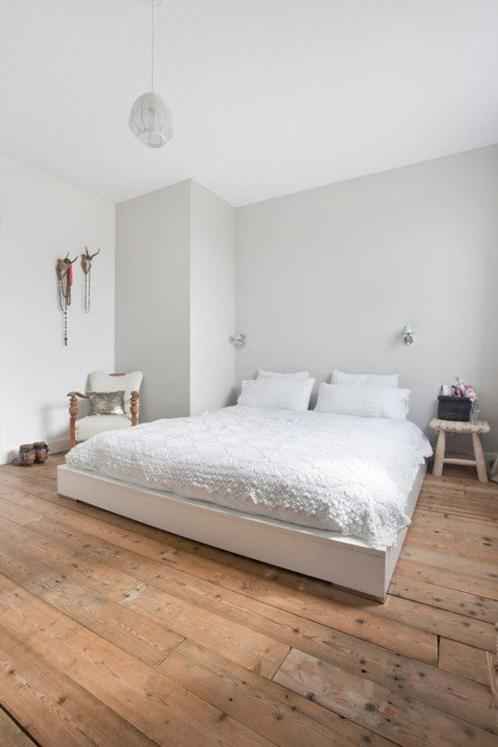 mooie houten vloer in de slaapkamer  wooninspiratie, Meubels Ideeën