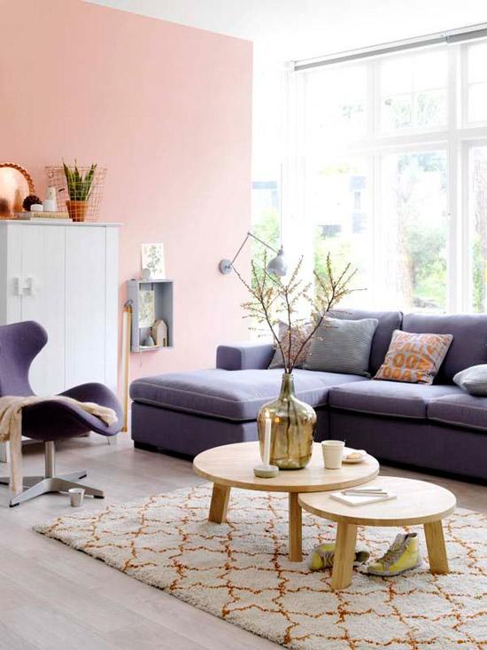 Mooie vloerkleed in de woonkamer | Wooninspiratie