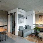 Mooie woonkamer in Praag