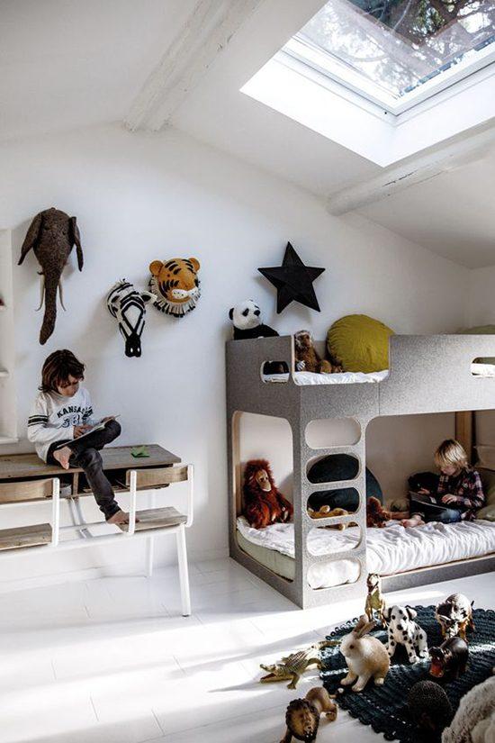 Muur decoratie in de kinderkamer