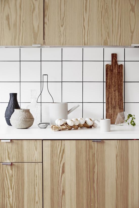 Donkere Houten Keuken : Natuurlijke houten keuken Wooninspiratie
