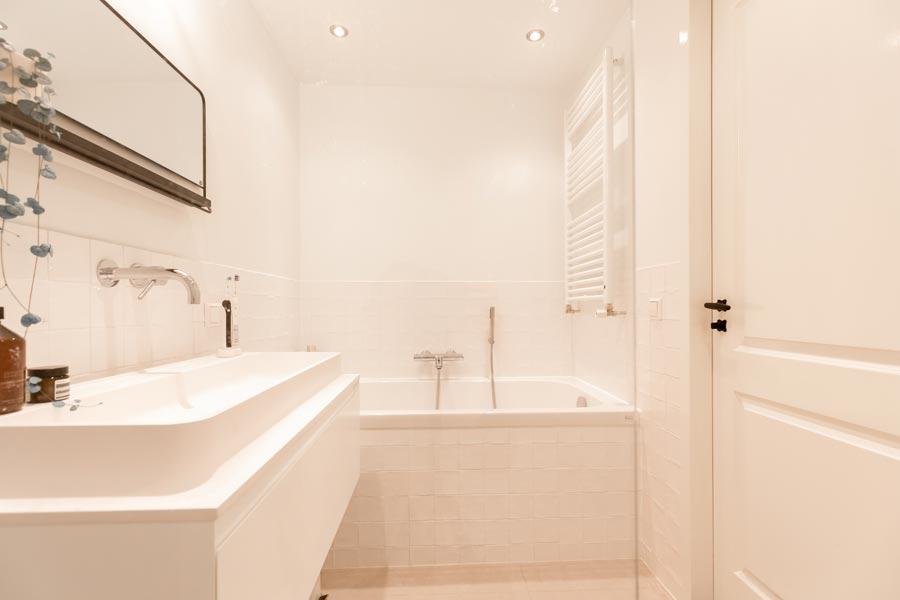 Onze kleine fijne badkamer