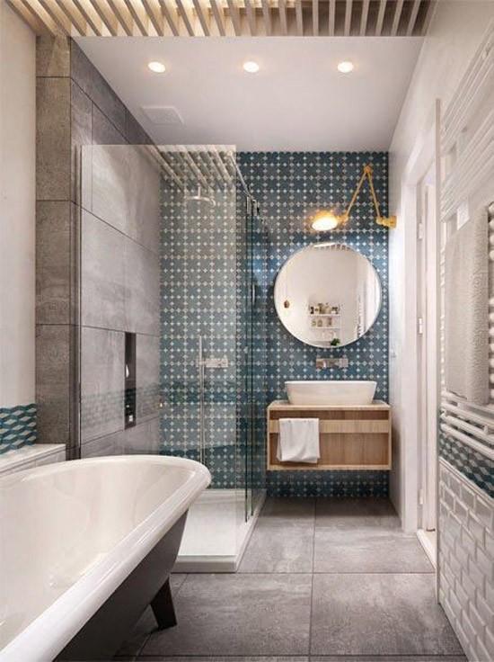 Opvallende tegels in de badkamer | Wooninspiratie