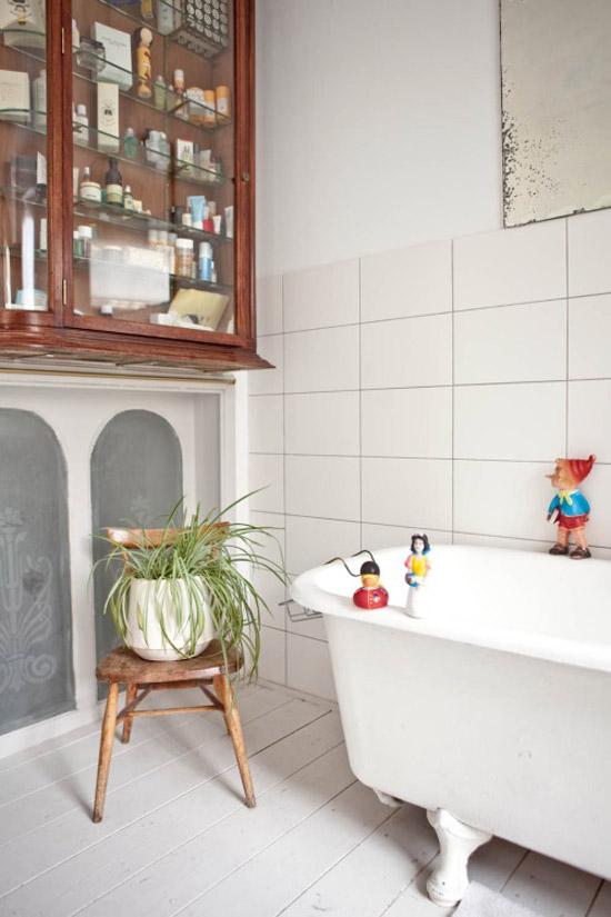 Oud vs nieuw in de badkamer