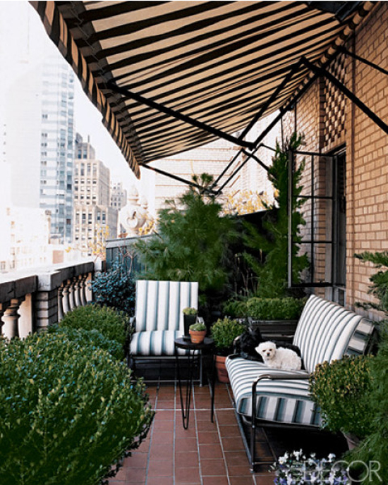 Super Overdekt balkon of terras | Wooninspiratie RS72