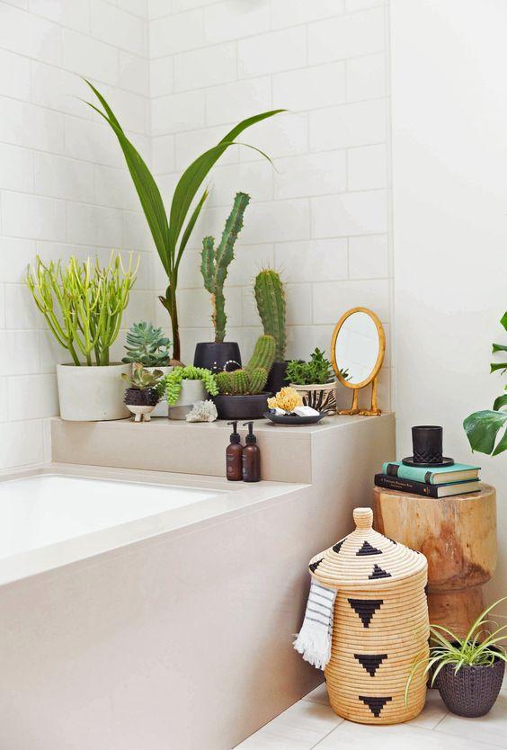 Planten in de badkamer is helemaal hip!