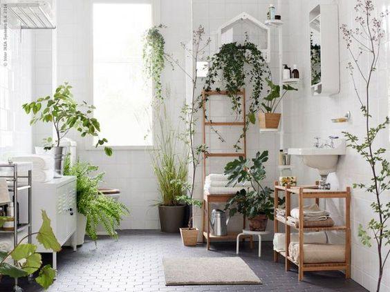 Planten in de badkamer is helemaal hip! | Wooninspiratie