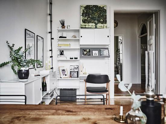 Meer Zweedse Inspiratie : Prachtig zweedse woonkamer wooninspiratie