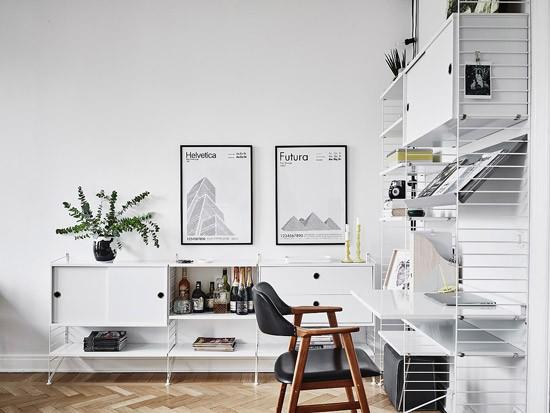 Witte Zweedse Woonkamer : Prachtig zweedse woonkamer wooninspiratie
