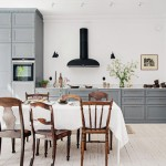 Een zwart witte keuken wooninspiratie - Chique keuken ...