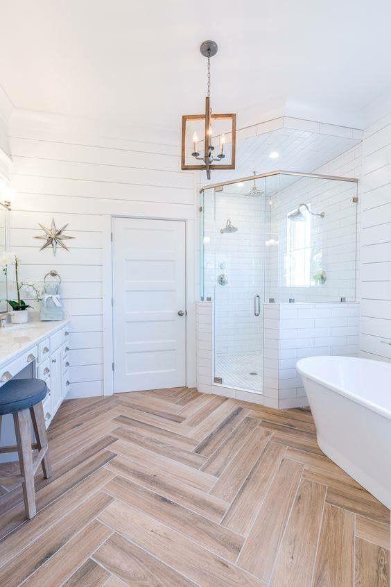 PVC vloer in de badkamer