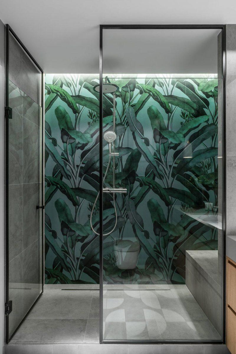 regendouche plantenpatroon