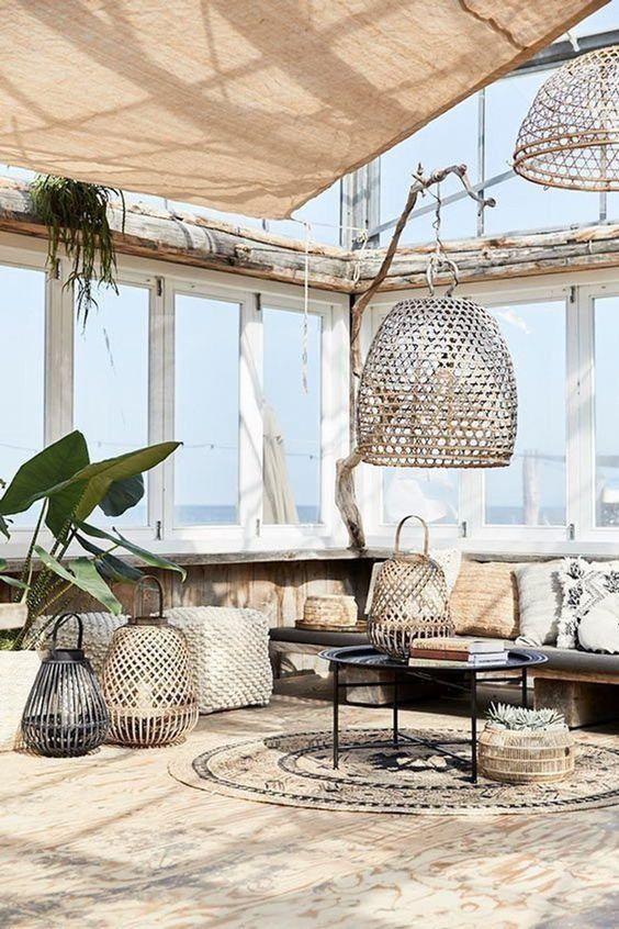 Riverdale bamboe hanglamp