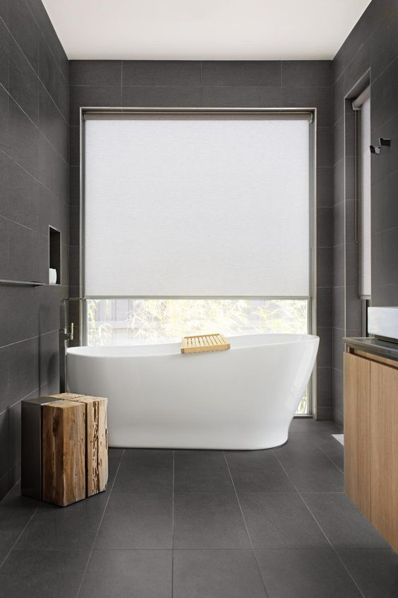 Rolgordijn voor de badkamer | Wooninspiratie