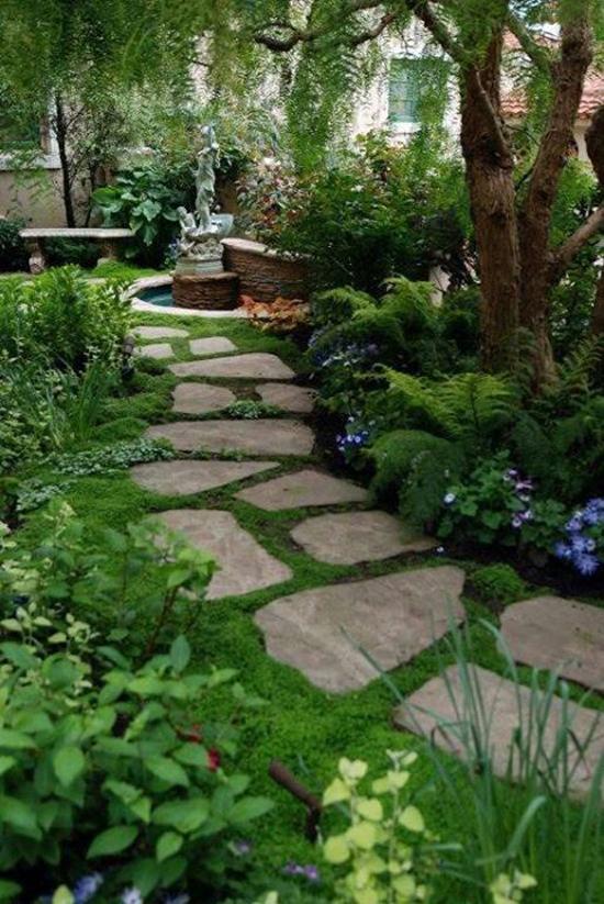 Romantische tuin idee n wooninspiratie - Zen tuinmodel ...