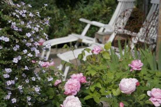 Romantische tuin ideeën