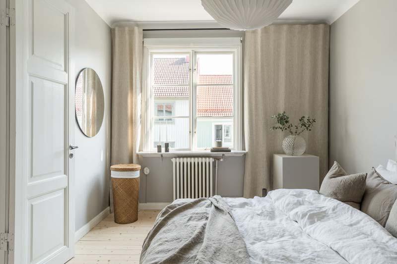 ronde spiegel slaapkamer