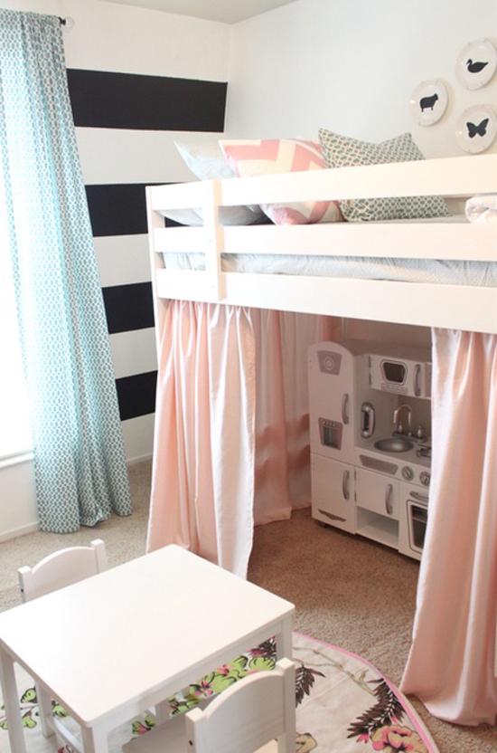 Roze kinderkamer wooninspiratie - Roze kleine kamer ...
