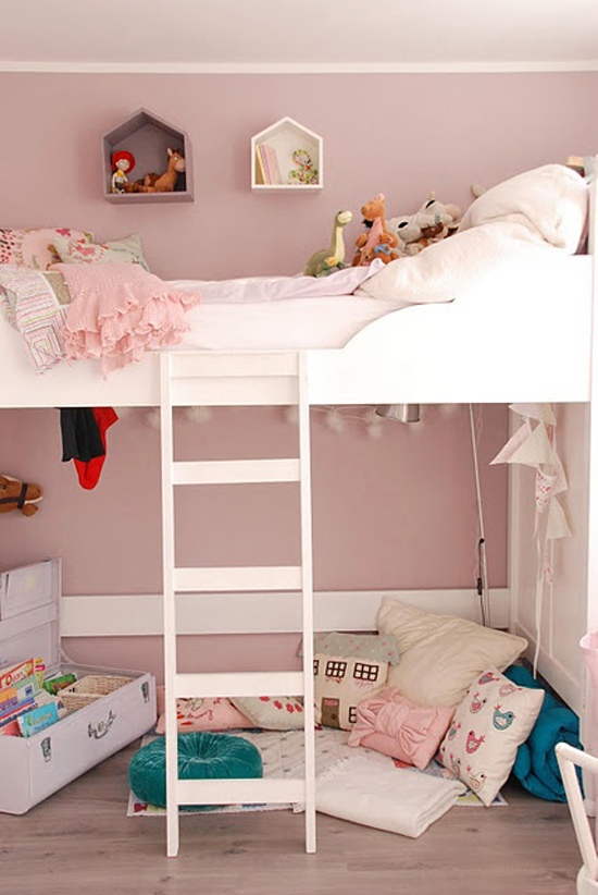 Ideen voor een meisjeskamer wooninspiratie - Kleine kinderkamer ...