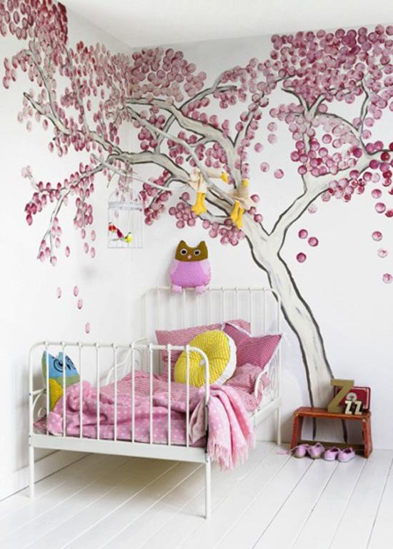 Een roze meisjes kamer wooninspiratie - Roze meid slaapkamer ...