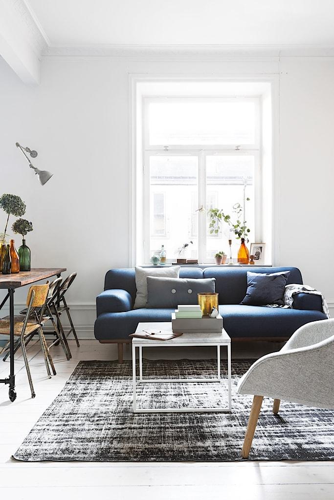 Scandinavisch appartement van Zweedse trouwfotograaf in een vintage industrieel tintje
