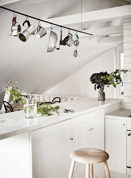 Scandinavische keukens met praktische elementen wooninspiratie - Scandinavische keuken ...