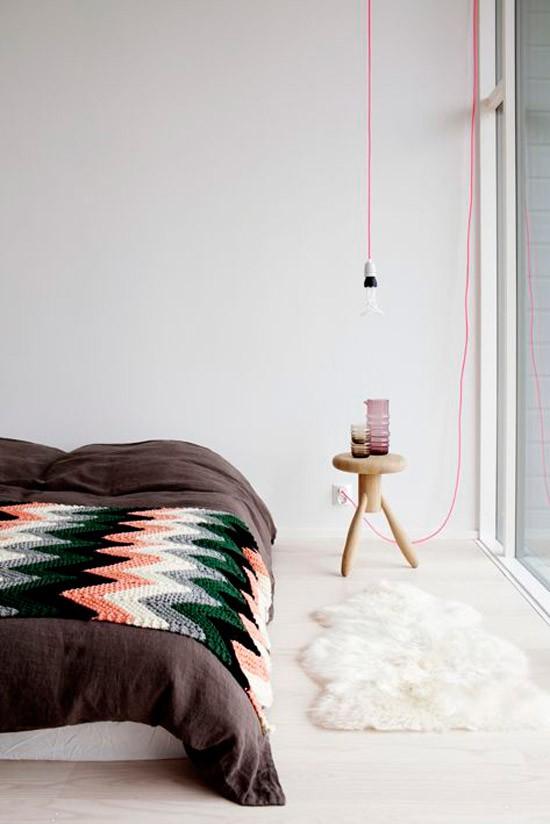 Simpele verlichting in de slaapkamer | Wooninspiratie