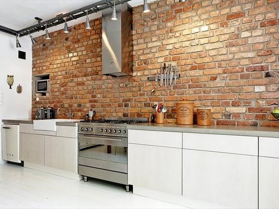 Een simpele keukeninrichting met veel licht wooninspiratie - Open keukeninrichting ...