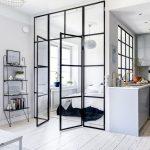 10x Slaapkamer met glazen wand en stalen kozijnen