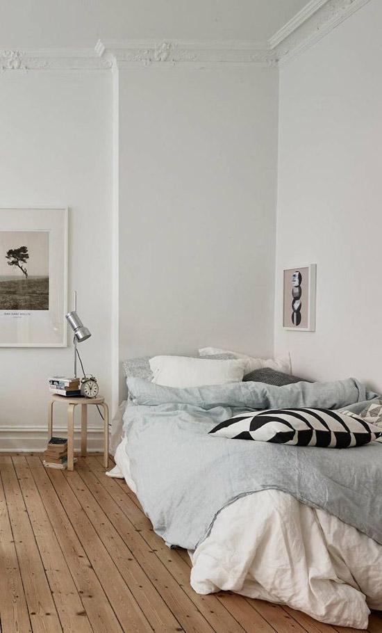 slapen met matras op de grond wooninspiratie
