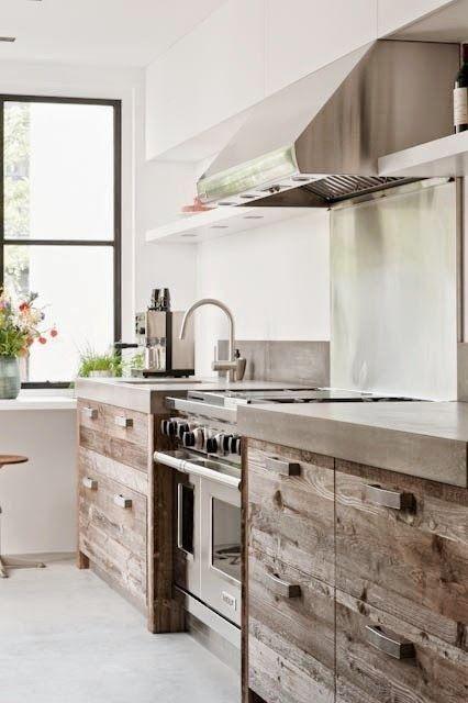 Sloophout keuken