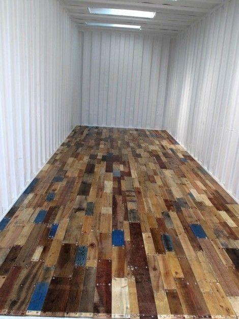 Sloophout vloer