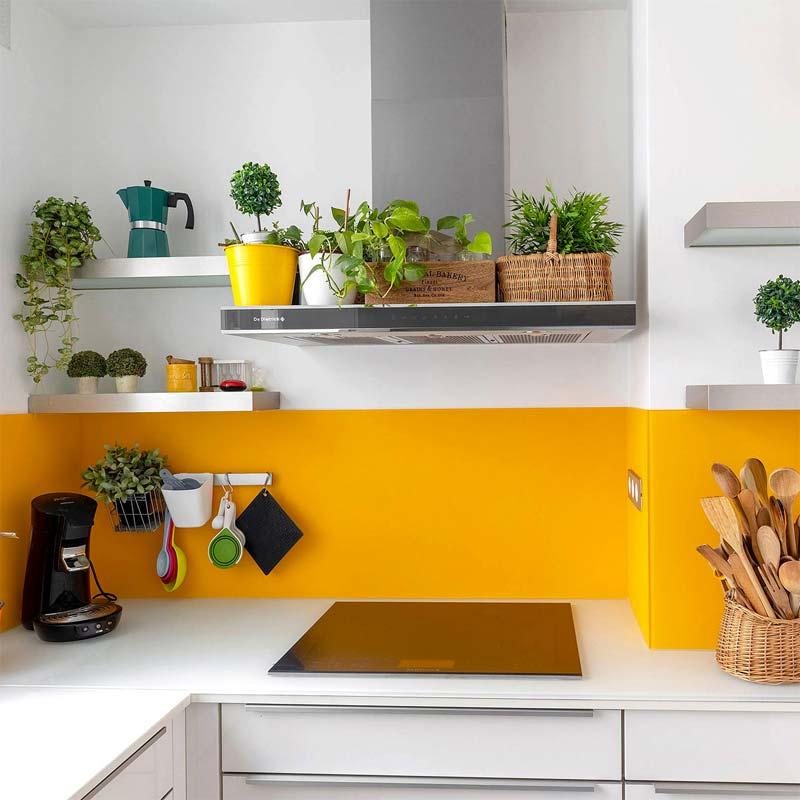 soorten werkbladen keuken glazen werkblad