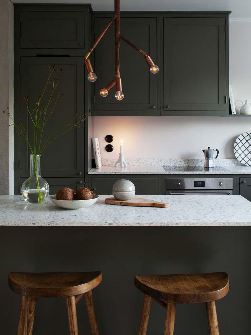 soorten werkbladen keuken terrazzo werkblad