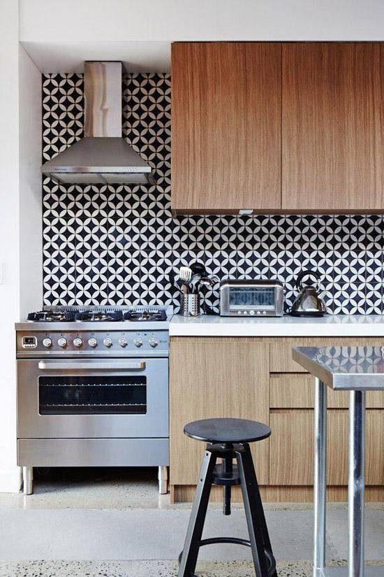 Zwart Witte Tegels Keuken : Speelse tegels in de keuken Wooninspiratie