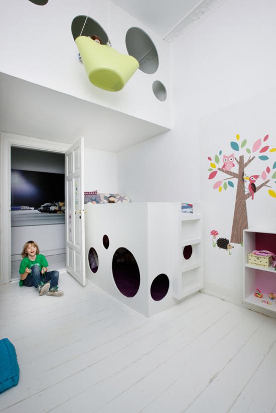 Een slimme speelse kinderkamer wooninspiratie - Kinderkamer ruimte ...