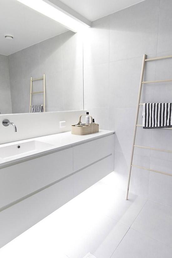 Spiegel in de badkamer | Wooninspiratie
