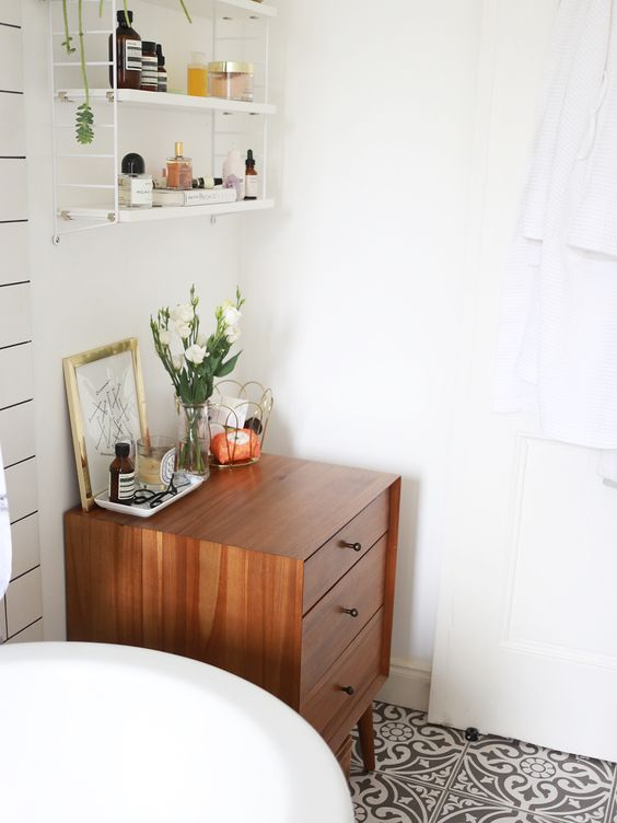 Stringkast badkamer