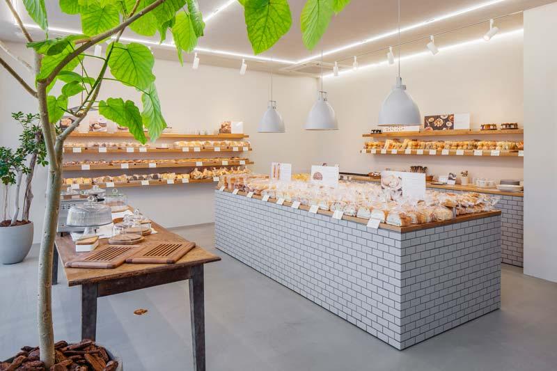 Style Bakery - een minimalistisch mooie bakkerij in Japan
